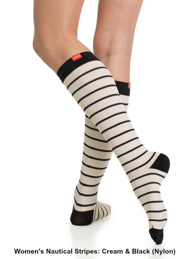 f7f3ffb29f VIM & VIGR Fashionable Compression Socks for Men & Women (15-20mmHg, 20-30mmHg  and Wide Calf)